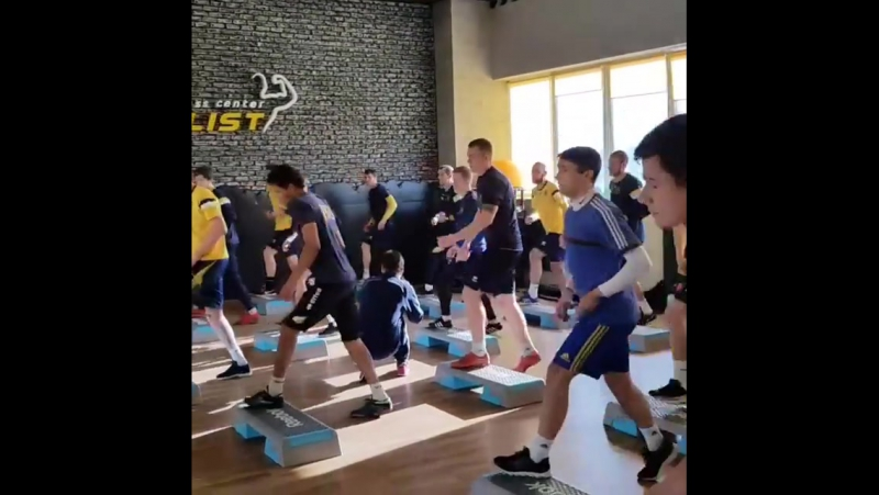 Металлист 1925 в Metalist Fitness Center