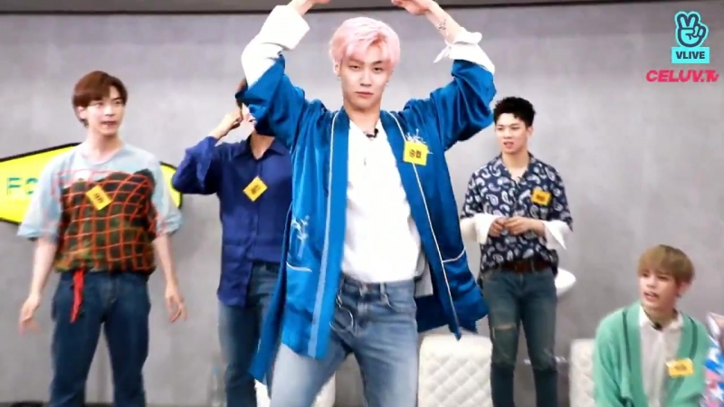 Seunghyubs Swan Lake ballet interpretation. Do I have to mention that it got him eliminated - - NFlying 엔플라잉 셀럽티비