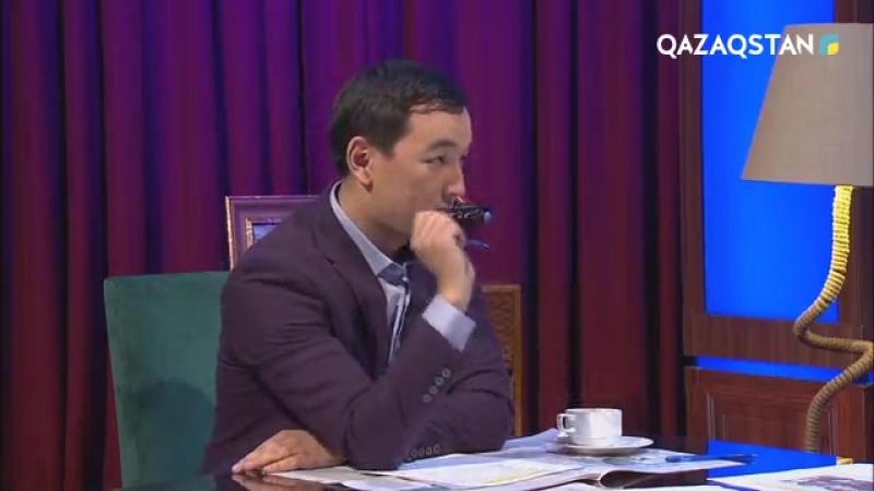 «Сенбілік шоудың» төрінде – айтыскер ақын Жандарбек Бұлғақов
