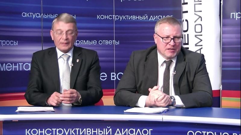 Тимофей Материков и Виктор Уханов о безопасности в Гатчине и районе
