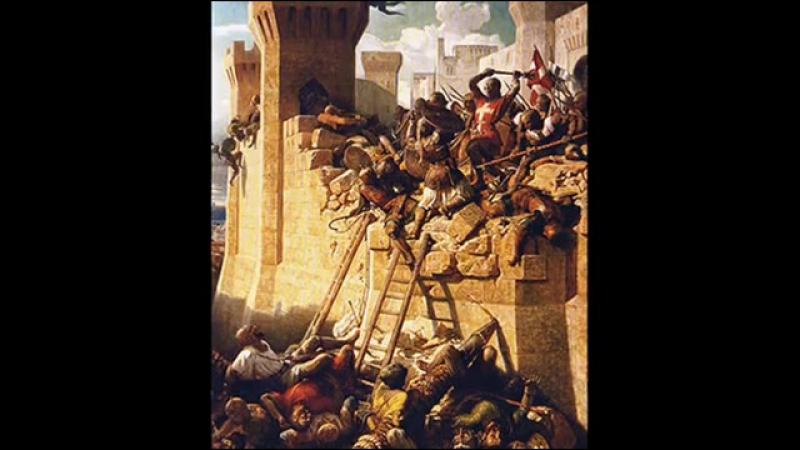 18th May 1291_ Siege of Acre signals ends of Crusader influence