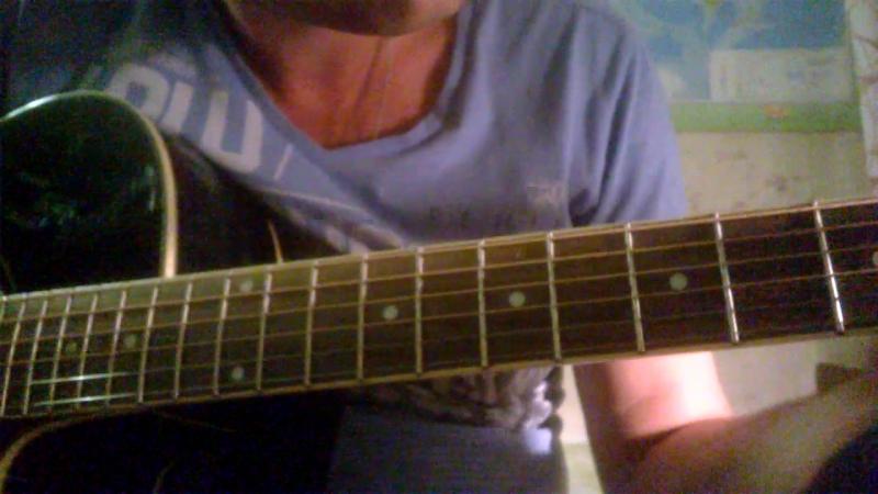 Несложный блюз на гитаре для начинающих.