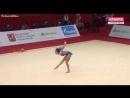 Арина Аверина мяч (Квалификация) 2018 Moscow Grand Prix