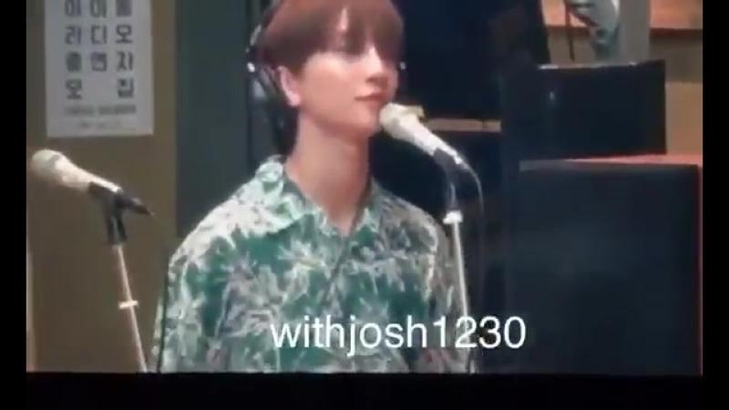 MBC FM4U Yang Yoseob's Dreaming Radio Joshua focus