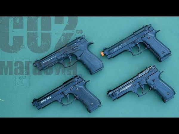 Турецкие копии Beretta 92: Blow F92, Retay Mod.92, Stalker 918-S, Ekol Firat Magnum