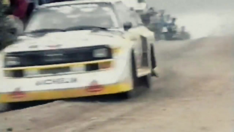 INSANE Audi Quattro Sport S1 1000 Lakes Group B Rally (Pure Engine Sound)