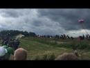 Ott Tanak Jump SS12 WRC Poland 2017