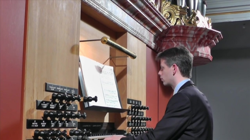 677 J. S. Bach - Fughetta super Chorale prelude Allein Gott in der Höh sei Ehr, BWV 677 Manualiter - Daniel Bruun
