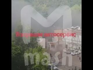 На северо-западе Москвы прогремел мощный взрыв
