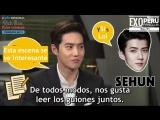 [SUB ESP] Entrevista exclusiva con Suho de EXO: Hombre rico, mujer pobre.