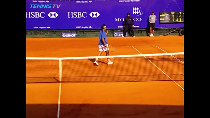 Tennis TV - A peek inside 16 yo Rafa Nadals FIRST-ever...