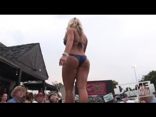 Football Kick-off Weekend - Bikini Contest ( sex model no porno tits ass bobbs babe big )