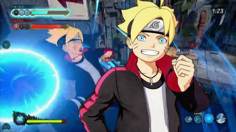 Naruto to Boruto: Shinobi Striker - Boruto Gameplay / Capture the Flag / Base / Barrier (HD)
