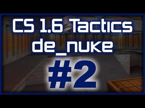 CS 1.6 Tactics 2 SK Gaming de_nuke default round (T Side)