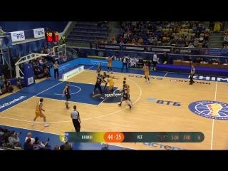 Баскетбол. Единая Лига ВТБ Химки 73 - 77 ВЭФ Рига