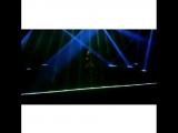 Goku laser performance electro dance