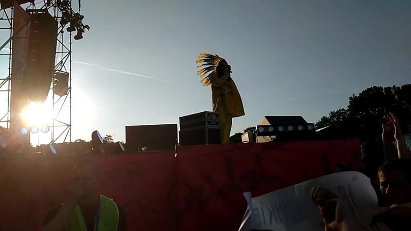 Супер-пупер мега популярний Дзідзьо власною персоною у місті Івано-Франківськ