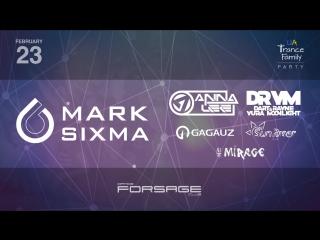 Mark Sixma @ UATF Party, Forsage Club (23.02.18)