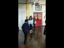 Кэтрин на уроке тенниса в школе Bond Primary School, 17.01.2018 3