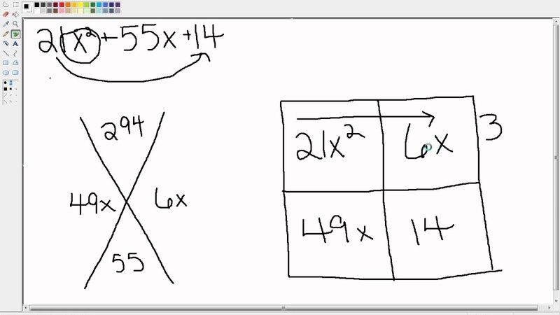 Factoring Trinomials with the X-Box Method » Freewka.com - Смотреть онлайн в хорощем качестве