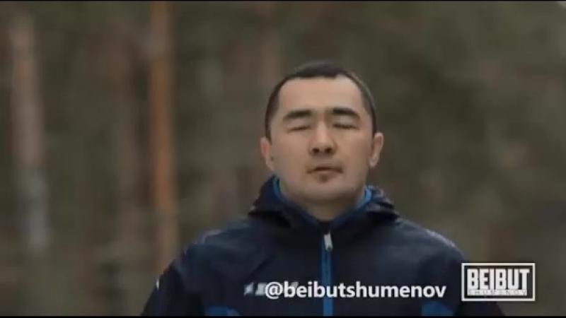 Бейбіт Шүменов Бурабайда өзі жайлы түсіріліп жатырған видеотуындының бекстейджімен бөлісті