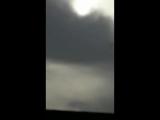 Момент катапультирования летчиков израильского истребителя, сбитого Сирией