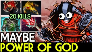 Maybe [Sven] Power of God! Superman 20 Kills 7.19 Dota 2