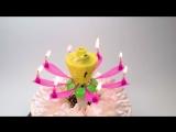 Свеча для торта музыкальная