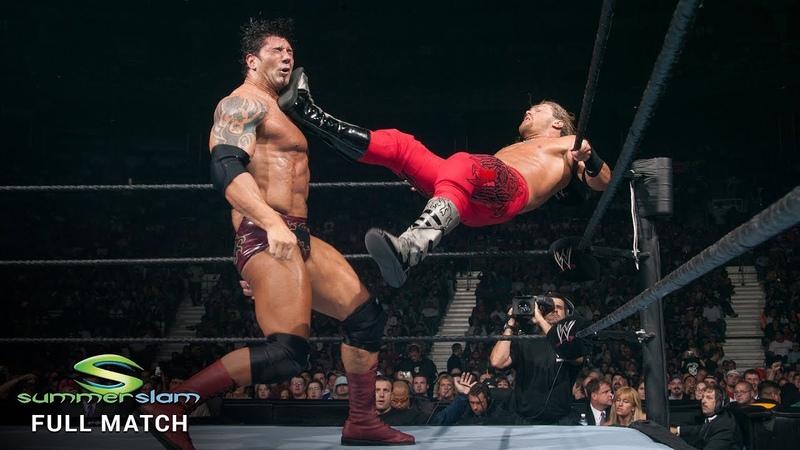 FULL MATCH - Edge vs Jericho vs Batista - Intercontinental Title Triple Threat: SummerSlam 2004