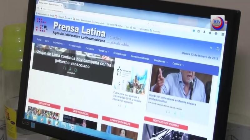 Celebra Prensa Latina Día Mundial de la Radio