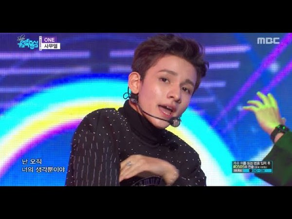 [HOT] SAMUEL - ONE, 사무엘 - 원 Show Music core 20180421