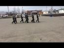 Смотр строя и песни.Мошковская средняя школа №1.