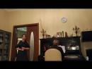 Гоными тихо летела душа небесами, П.И.Чайковский, Рождественский домашний концерт.mp4