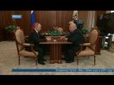 Владимир Путин встретился с председателем Союза театральных деятелей Александром Калягиным