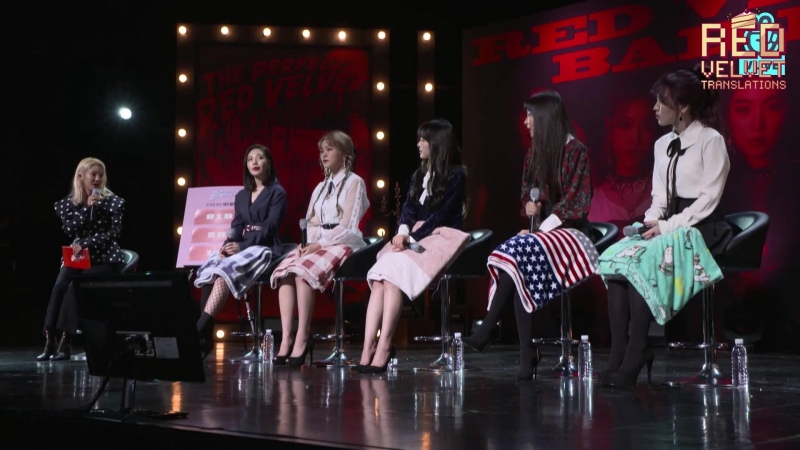 180129 Red Velvet @ Comeback Showcase 'The Perfect Red Velvet Night' Part 1 [рус. саб]