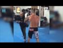 Joe Schilling Kickboxing Training Pad Work _ Muscle Madness
