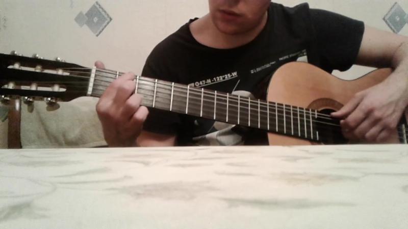SS marschiert in Feindesland на гитаре
