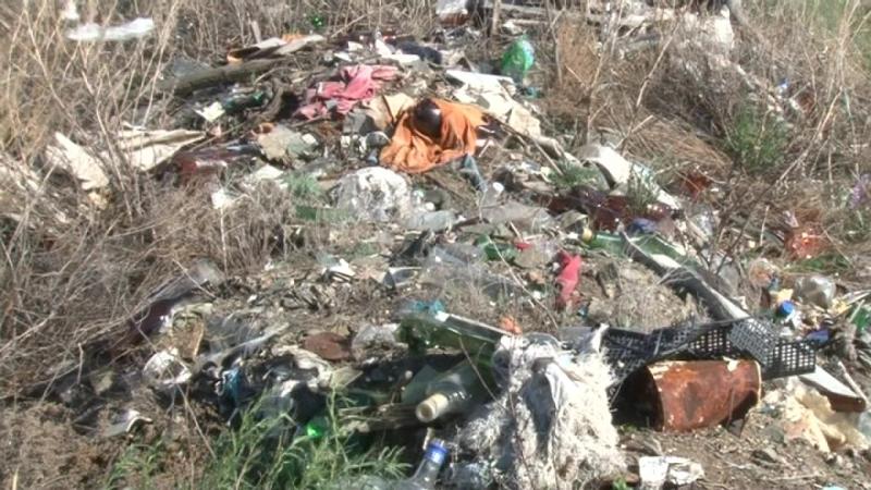 Анонс мусор с. Целинное
