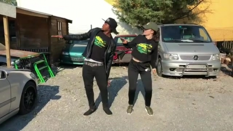 Dancehall choreography by Nicky Trice (Godzilla) Anna_Wannadance | Munga Honorable - Colors