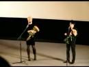 Земфира и Рената на премьере фильма в Петербурге
