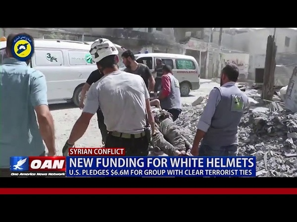 New Funding for White Helmets: U.S. Pledges $6.6M for Group with Clear Terrorist Ties