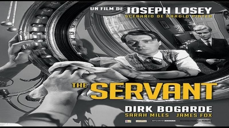 1963 Joseph Losey -Il Servo - Dirk Bogarde Sara Miles James Fox