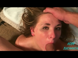 well, babe shows of her sweet bald cunt while stroking dick that would