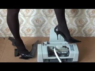 Printer crush