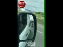 Водитель фуры сбил инспектора Укртрансбезопасности и возил его на капоте