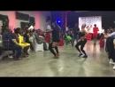 Show kizomba à une cérémonie de mariage par Landry Windy