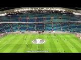 Элджей - Hey Guys играет на стадионе Лейпцига