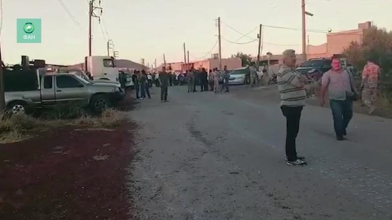 Сирия ФАН публикует видео вывоза боевиков из провинции Эль-Кунейтра