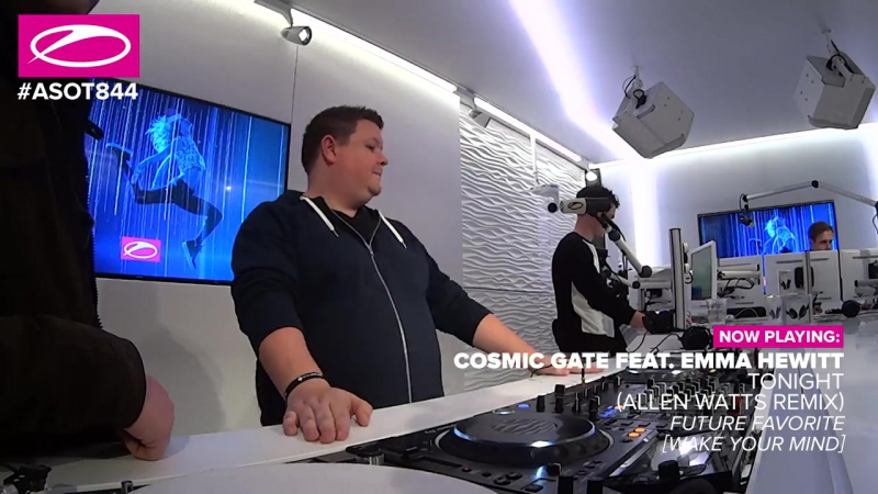 Cosmic Gate feat Emma Hewitt Tonight Allen Watts Remix