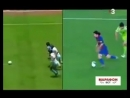 Гол Месси в сравнении с голом Марадоны